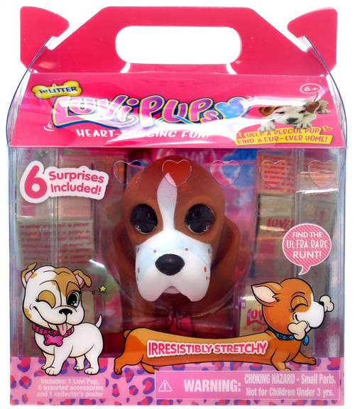 Luvi Pups Hound Figure [Brown]