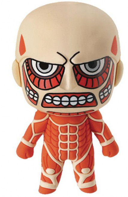 Attack on Titan 3D Figural Keyring Colossal Titan Keychain [Loose]