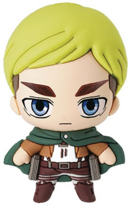 Attack on Titan 3D Figural Keyring Erwin Smith Keychain [Loose]