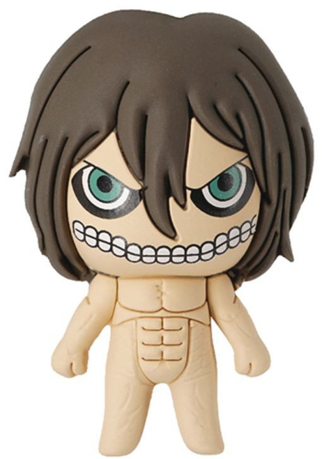Attack on Titan 3D Figural Keyring Attack Titan Form (Eren Yeager) Keychain [Exclusive B Loose]