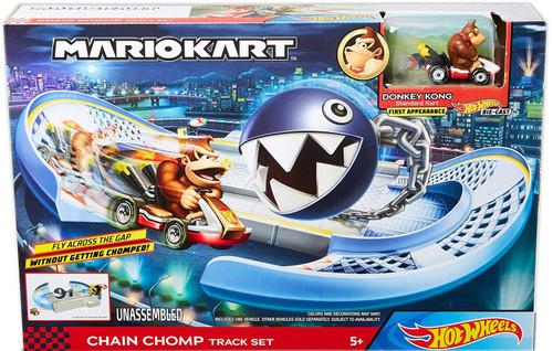 Hot Wheels Mario Kart Chain Comp Track Set [with Donkey Kong]