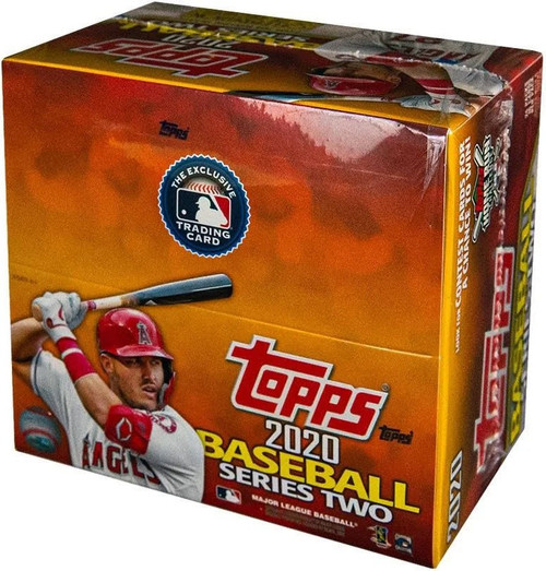 MLB Topps 2020 Series 2 Baseball Trading Card RETAIL Box [24 Packs]
