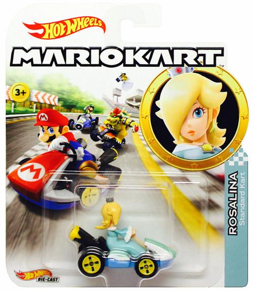 Hot Wheels Mario Kart Rosalina Diecast Car [Standard Kart]