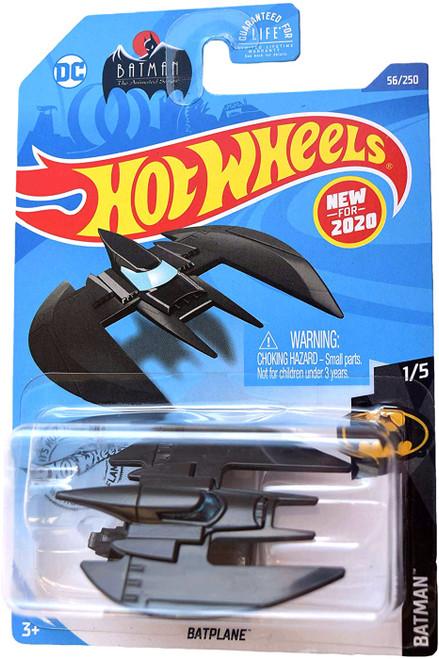 Hot Wheels Batman The Animated Series Batplane Diecast Car #1/5