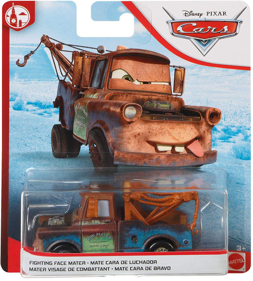 Disney / Pixar Cars Cars 3 London Chase Fighting Face Mater Diecast Car [2020]