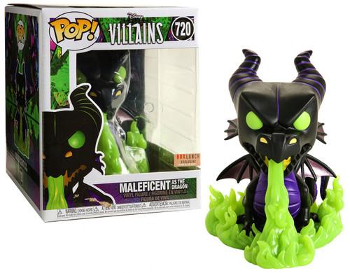 Funko Sleeping Beauty POP! Disney Maleficent as the Dragon Exclusive Vinyl Figure #720 [Glow-in-the-Dark]