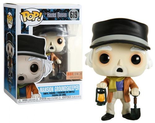 Funko Haunted Mansion 50th Anniversary POP! Disney Mansion Groundskeeper Exclusive Vinyl Figure #619