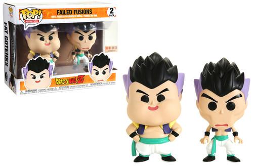 Funko Dragon Ball Z POP! Animation Failed Fusions Exclusive Vinyl Figure 2-Pack [Goten & Trunks]
