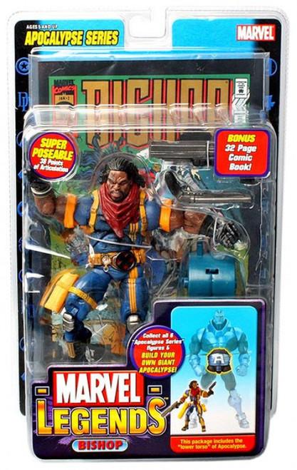 Marvel Legends Series 12 Apocalypse Bishop Action Figure [Damaged Package]