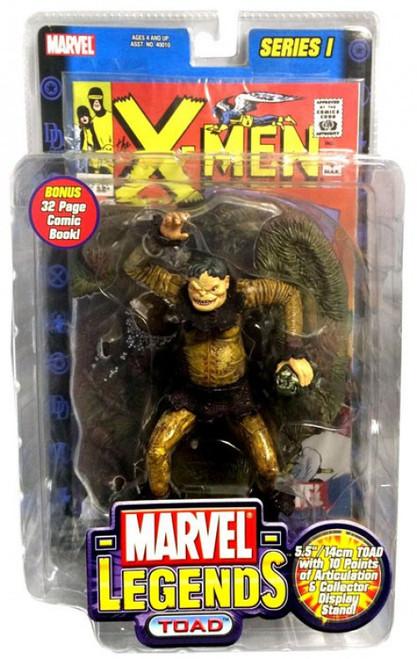 Marvel Legends Series 1 Toad Action Figure [Damaged Package]