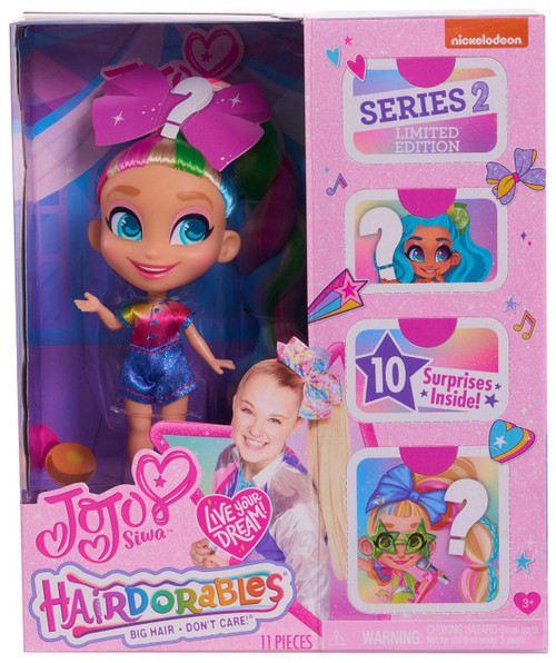 Hairdorables Loves Series 2 JoJo Siwa Doll [Limited Edition]
