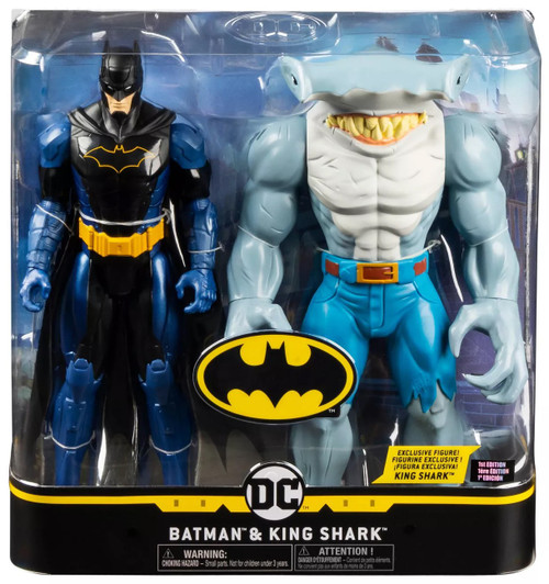 DC Creature Chaos Batman & King Shark Exclusive Action Figure 2-Pack