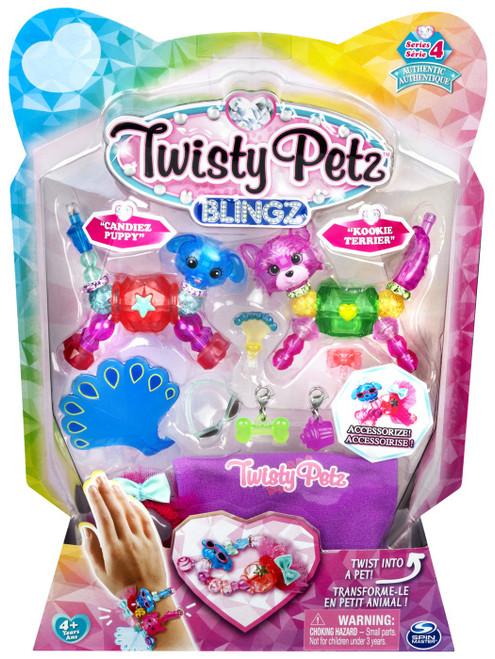 Twisty Petz Blingz Series 4 Candiez Puppy & Kookie Terrier 2-Pack Set