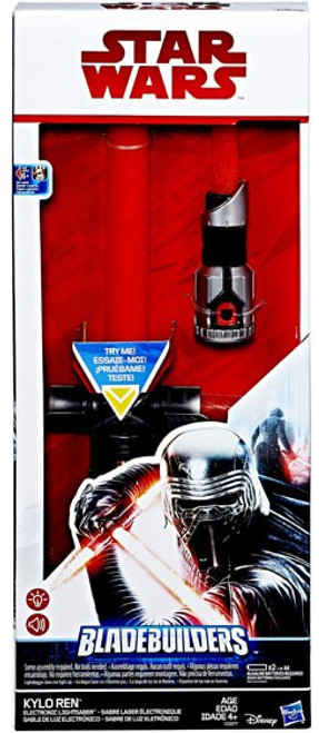 Star Wars The Last Jedi Kylo Ren Electronic Lightsaber