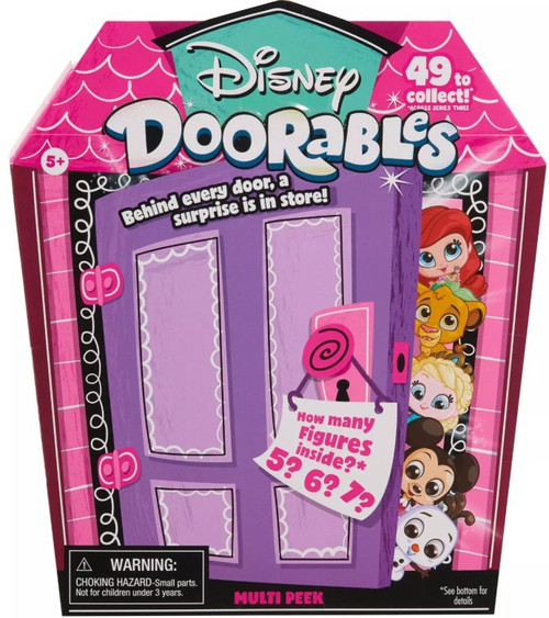 Disney Doorables Series 3 MULTI Peek Mystery Pack [5, 6 or 7 Figures]