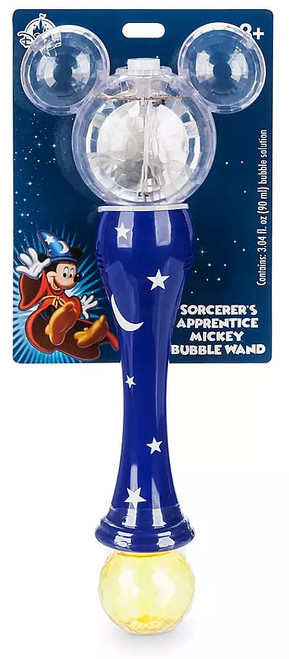 Disney Mickey Mouse Crystal Light-Up Exclusive Bubble Wand
