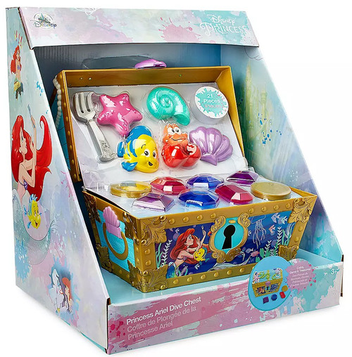 Disney Princess The Little Mermaid Princess Ariel Dive Chest Exclusive Playset