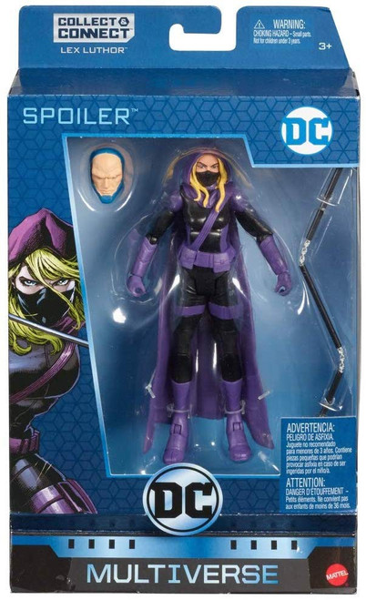 DC Multiverse Lex Luthor Series Spoiler Exclusive Action Figure