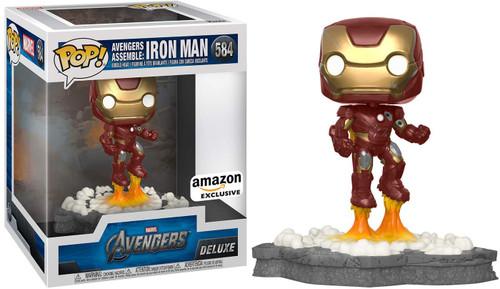 Funko Avengers POP! Marvel Iron Man Exclusive Deluxe Vinyl Figure #584 [Avengers Assemble, #1]