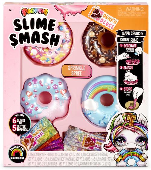 Poopsie Slime Surprise! Dunk'N Deuce Slime Smash Sprinkle Spree Slime Kit
