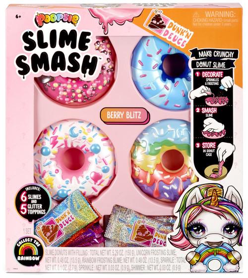 Poopsie Slime Surprise! Dunk'N Deuce Slime Smash Berry Blitz Slime Kit