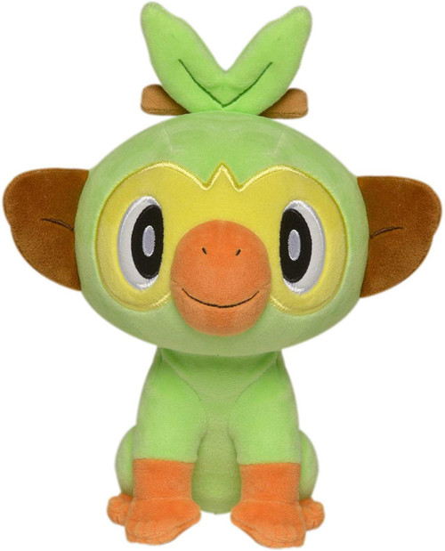 Pokemon Grookey 8-Inch Plush