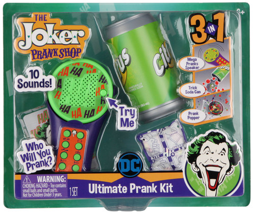 DC Batman The Joker Prank Shop Ultimate Prank Kit