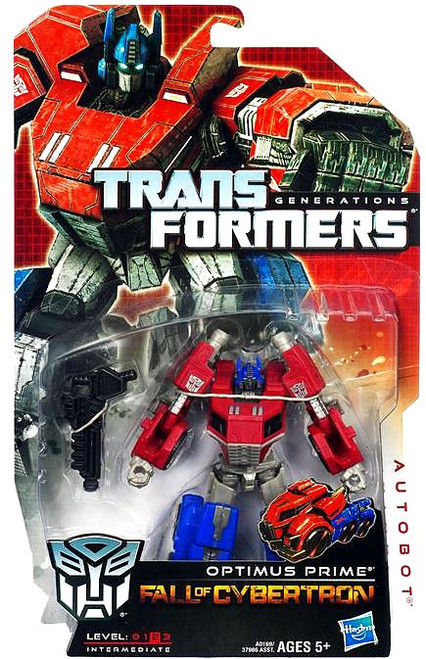 Transformers Generations Fall of Cybertron Optimus Prime Deluxe Action Figure