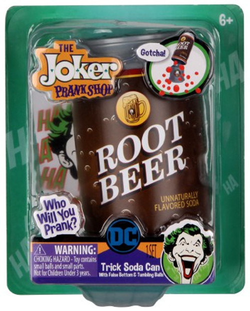 DC Batman The Joker Prank Shop Trick Soda Can
