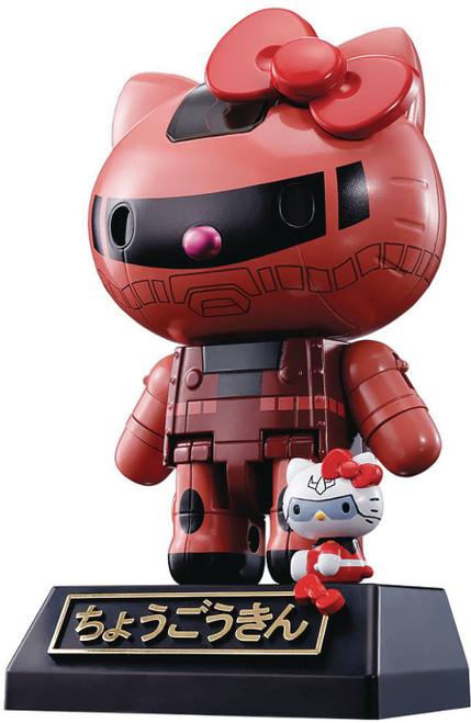 Tamashii Nations Gundam Chogokin Hello Kitty Char's Zaku II Action Figure