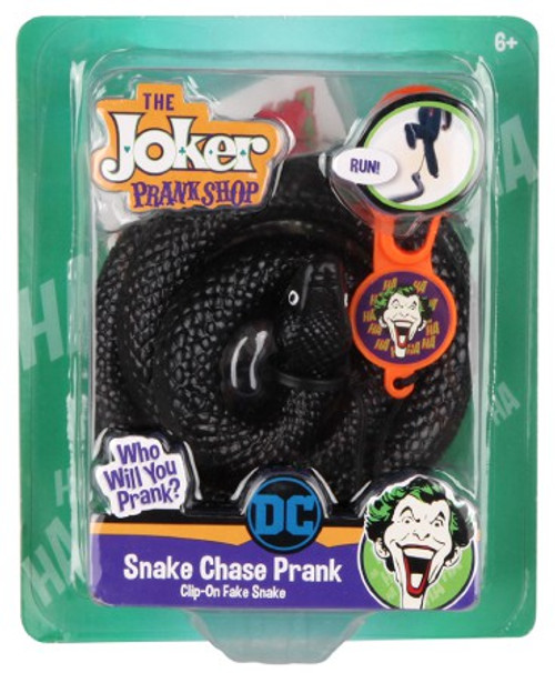 DC Batman The Joker Prank Shop Snake Chase Prank