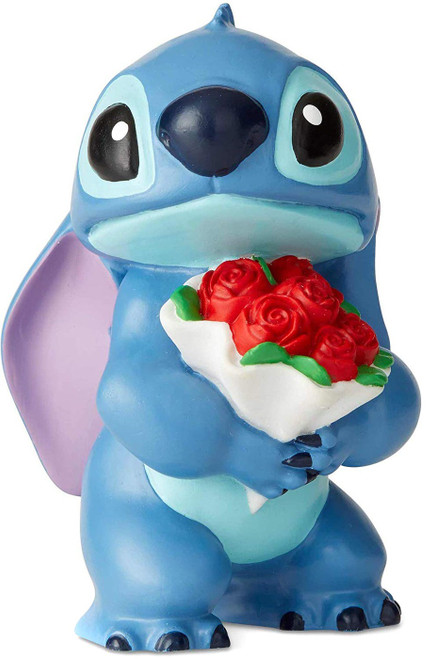 Lilo & Stitch Disney Showcase Stitch with Flowers 2.5-Inch Figurine