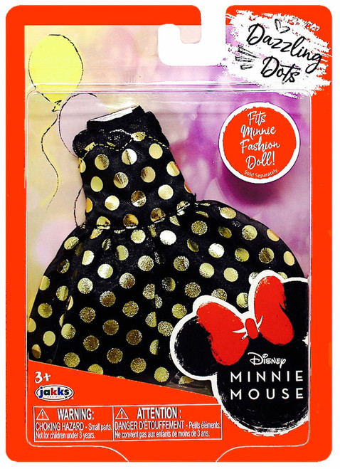 Disney Minnie Mouse Dazzling Dots 9-Inch Doll Accessory