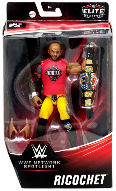 WWE Wrestling Elite Network Spotlight Ricochet Exclusive Action Figure