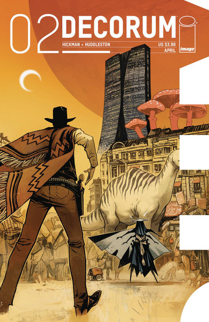 Image Comics Decorum #2 Comic Book [Jonathan Hickman]
