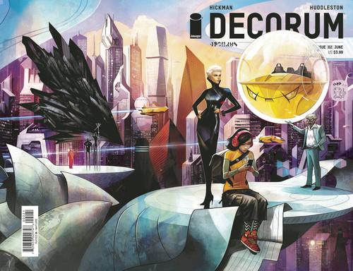 Image Comics Decorum #2 Comic Book [Mike Huddleston Variant Cover]