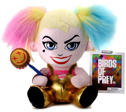 DC Birds of Prey Phunny Harley Quinn 7-Inch Plush [Sitting]