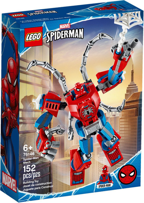 LEGO Marvel Spider-Man Mech Set #76146