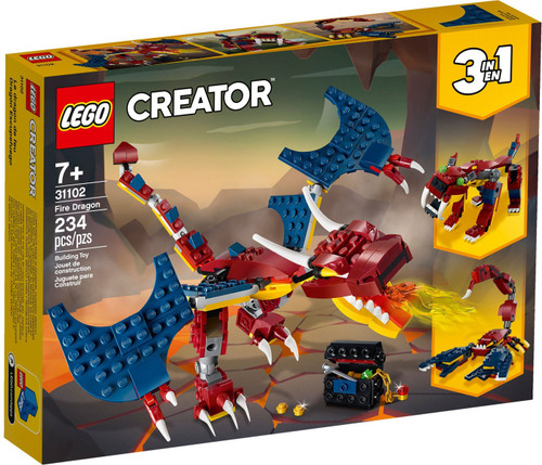 LEGO Creator Fire Dragon Set #31102