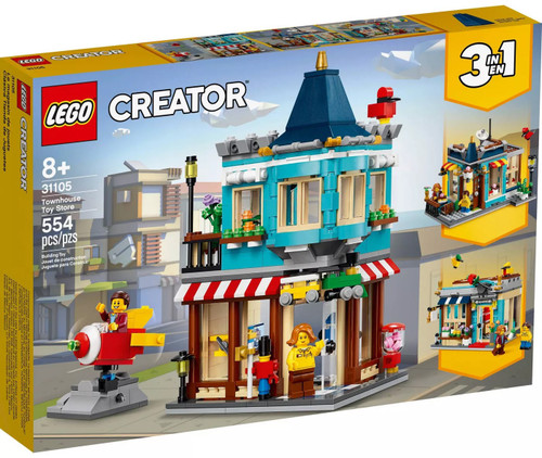 LEGO Creator Townhouse Toy Store Set #31105