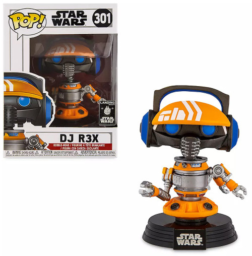 Funko POP! Star Wars DJ R3X Exclusive Vinyl Bobble Head #301