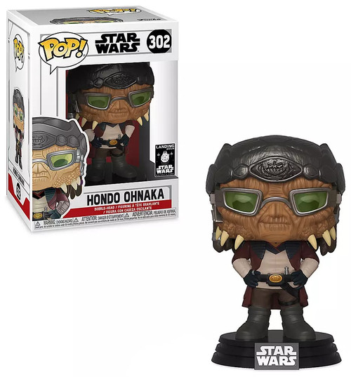 Funko POP! Star Wars Hondo Ohnaka Exclusive Vinyl Bobble Head #302