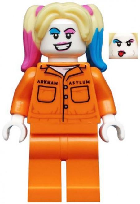LEGO DC Universe Super Heroes Batman II Harley Quinn Minifigure [Prison Jumpsuit Loose]