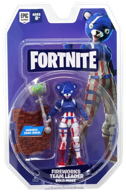 Fortnite Solo Mode Fireworks Team Leader Action Figure