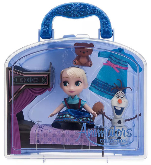 Disney Frozen Animators' Collection Elsa Exclusive Mini Doll Playset [2020]