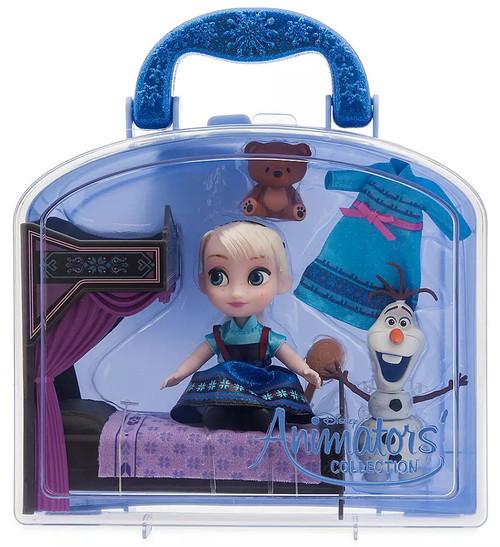 Disney Frozen Animators' Collection Elsa Exclusive Mini Doll Playset [2020]