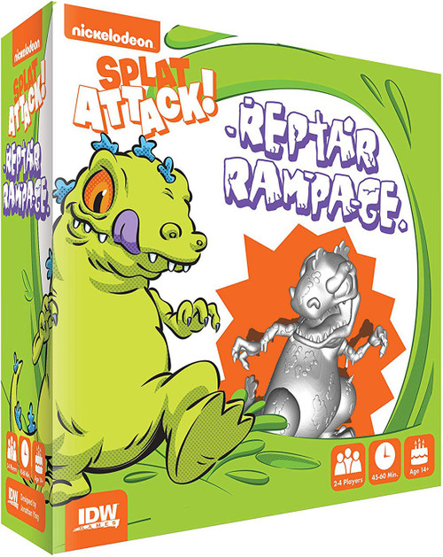 Nickelodeon Splat Attack! Reptar Rampage Board Game Expansion