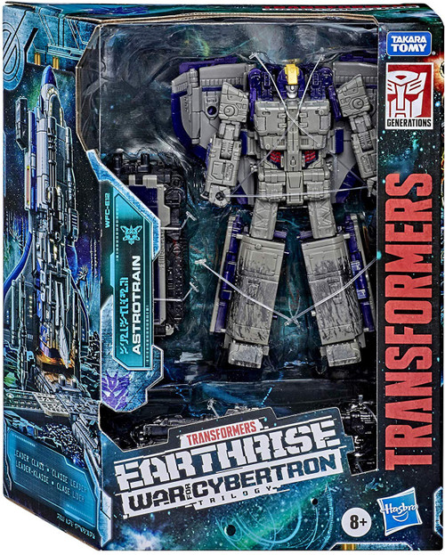 Transformers Generations Earthrise: War for Cybertron Trilogy Astrotrain Leader Action Figure WFC-E12
