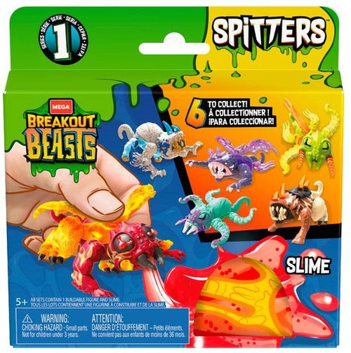 Breakout Beasts Egg Spitters Series 1 Mystery Pack
