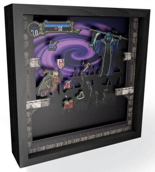 "Pixel Frames Castlevania - Symphony of the Night Shadow Box Art [9"" x 9""]"